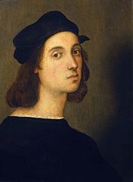Self Portrait | Raphael | Painting Reproduction