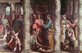 The Healing of the Lame Man | Raphael | Painting Reproduction
