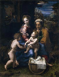The Holy Family (The Pearl), c.1518 by Raphael | Painting Reproduction