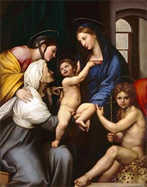 Madonna of the Cloth | Raphael | Painting Reproduction