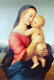 The Tempi Madonna, 1508 by Raphael | Painting Reproduction