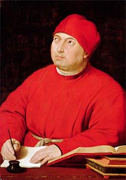 Portrait of Tommaso Inghirami | Raphael | Painting Reproduction
