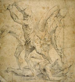 Drawing for The School of Athen's | Raphael | Painting Reproduction