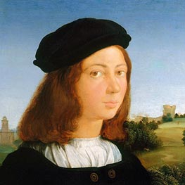 Portrait of a Man | Raphael | Painting Reproduction