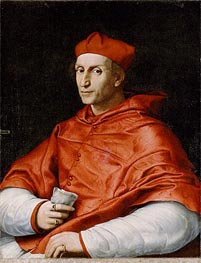 Portrait of Cardinal Bernardo Dovizzi Bibbiena | Raphael | Painting Reproduction