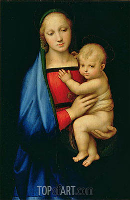 The Granduca Madonna, c.1505 | Raphael | Painting Reproduction
