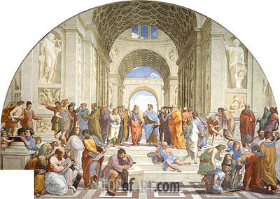 School of Athens, c.1510/11 | Raphael | Painting Reproduction