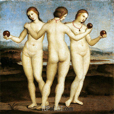The Three Graces, c.1504/05 | Raphael | Painting Reproduction