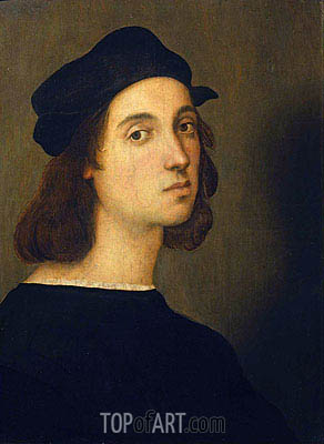 Self Portrait, c.1506 | Raphael | Painting Reproduction