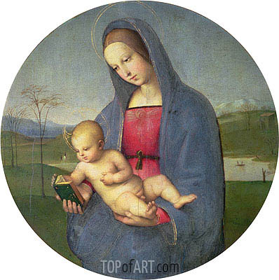 The Madonna Conestabile, c.1502/03 | Raphael | Gemälde Reproduktion