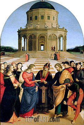 The Marriage of the Virgin, 1504 | Raphael | Painting Reproduction