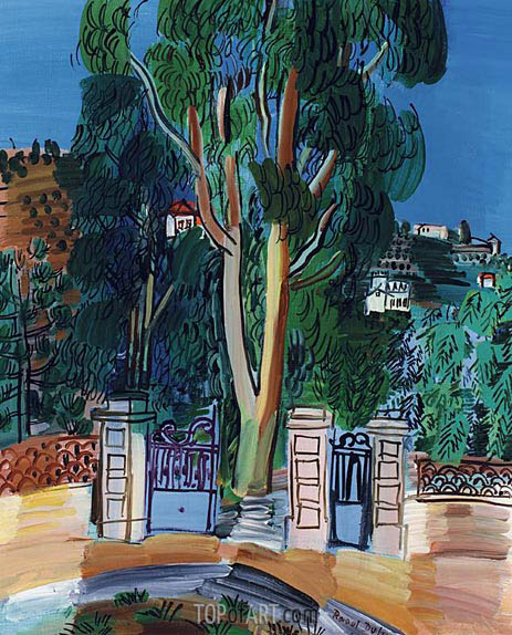 The Eucalyptus, c.1926/27   Raoul Dufy   Painting Reproduction