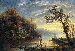 Autumn on the Hudson | Regis-Francois Gignoux | Painting Reproduction