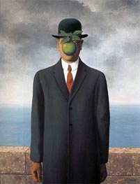 The Son of Man, 1964 by Rene Magritte | Painting Reproduction