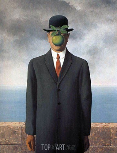 The Son of Man, 1964 | Rene Magritte | Painting Reproduction