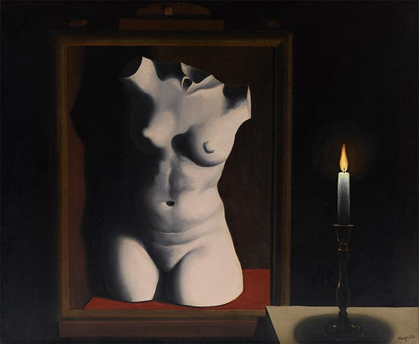 The Light of Coincidences, 1933   Rene Magritte   Painting Reproduction