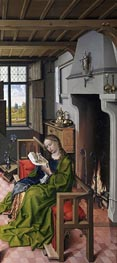St Barbara, 1438 by Robert Campin | Painting Reproduction