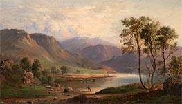 Loch Long, 1867 by Robert Scott Duncanson | Painting Reproduction