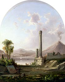 Pompeii, 1855 by Robert Scott Duncanson | Painting Reproduction
