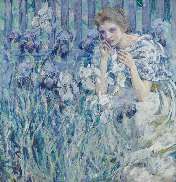 Fleur de Lis, c.1895/900 | Robert Reid | Painting Reproduction