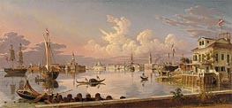View of Venice, 1845 by Robert Salmon | Painting Reproduction