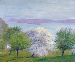 Apple Bloom, 1903 von Robert Vonnoh | Gemälde-Reproduktion