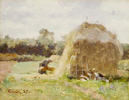 La Sieste (The Rest) | Robert Vonnoh | Painting Reproduction