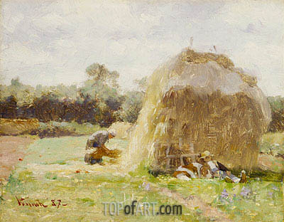 La Sieste (The Rest), 1887 | Robert Vonnoh | Painting Reproduction
