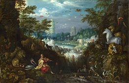 Orpheus, 1628 by Roelandt Savery | Painting Reproduction