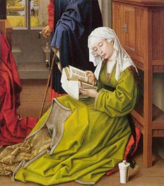 The Magdalen Reading | van der Weyden | Painting Reproduction