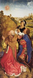 Three Magi, c.1445/48 by van der Weyden | Painting Reproduction