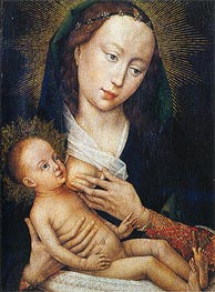 Madonna, c.1450/60 by van der Weyden | Painting Reproduction