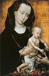 Madonna, c.1460 by van der Weyden | Painting Reproduction