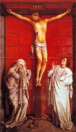 Crucifixion, c.1460 by van der Weyden | Painting Reproduction