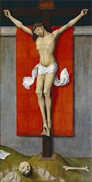 The Crucifixion, c.1450/55 by van der Weyden | Painting Reproduction