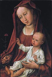 Madonna with Child, undated von van der Weyden | Gemälde-Reproduktion