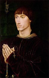 Portrait of Philippe de Croy Seigneur of Sempy | van der Weyden | Painting Reproduction
