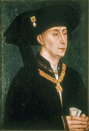 Portrait of Philip the Good, undated von van der Weyden | Gemälde-Reproduktion