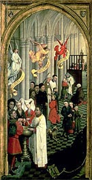 The Altarpiece of the Seven Sacraments, c.1445/50 von van der Weyden | Gemälde-Reproduktion