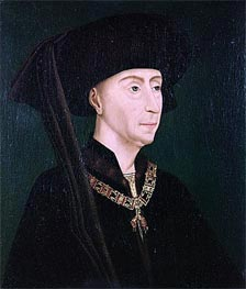 Portrait of Philippe III the Good, undated von van der Weyden | Gemälde-Reproduktion