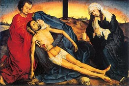 Pieta (Lamentation of Christ) | van der Weyden | Painting Reproduction