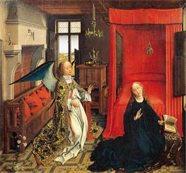 The Annunciation | van der Weyden | Painting Reproduction