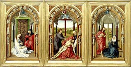 Miraflores Altarpiece | van der Weyden | Painting Reproduction