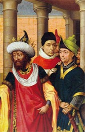 Group of Men | van der Weyden | Painting Reproduction