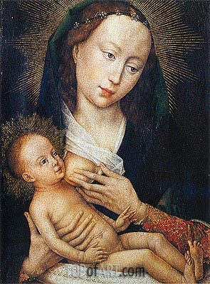 Madonna, c.1450/60 | van der Weyden | Painting Reproduction
