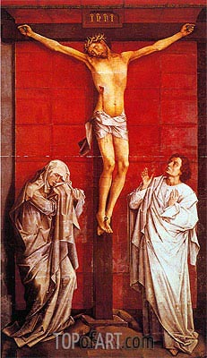 Crucifixion, c.1460 | van der Weyden | Painting Reproduction