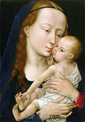 Virgin and Child, a.1454 | van der Weyden | Painting Reproduction