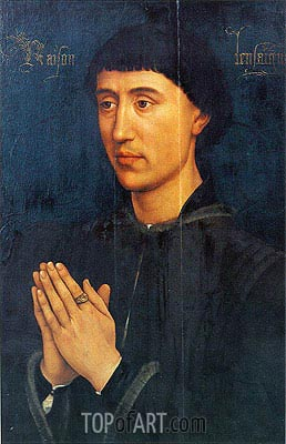 Portrait of Laurent Froimont, c.1460/75 | van der Weyden | Painting Reproduction