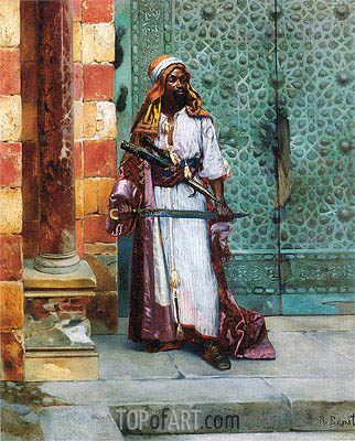 Standing Guard, undated | Rudolph Ernst | Painting Reproduction