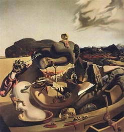 Autumn Cannibalism, 1936 by Dali | Painting Reproduction